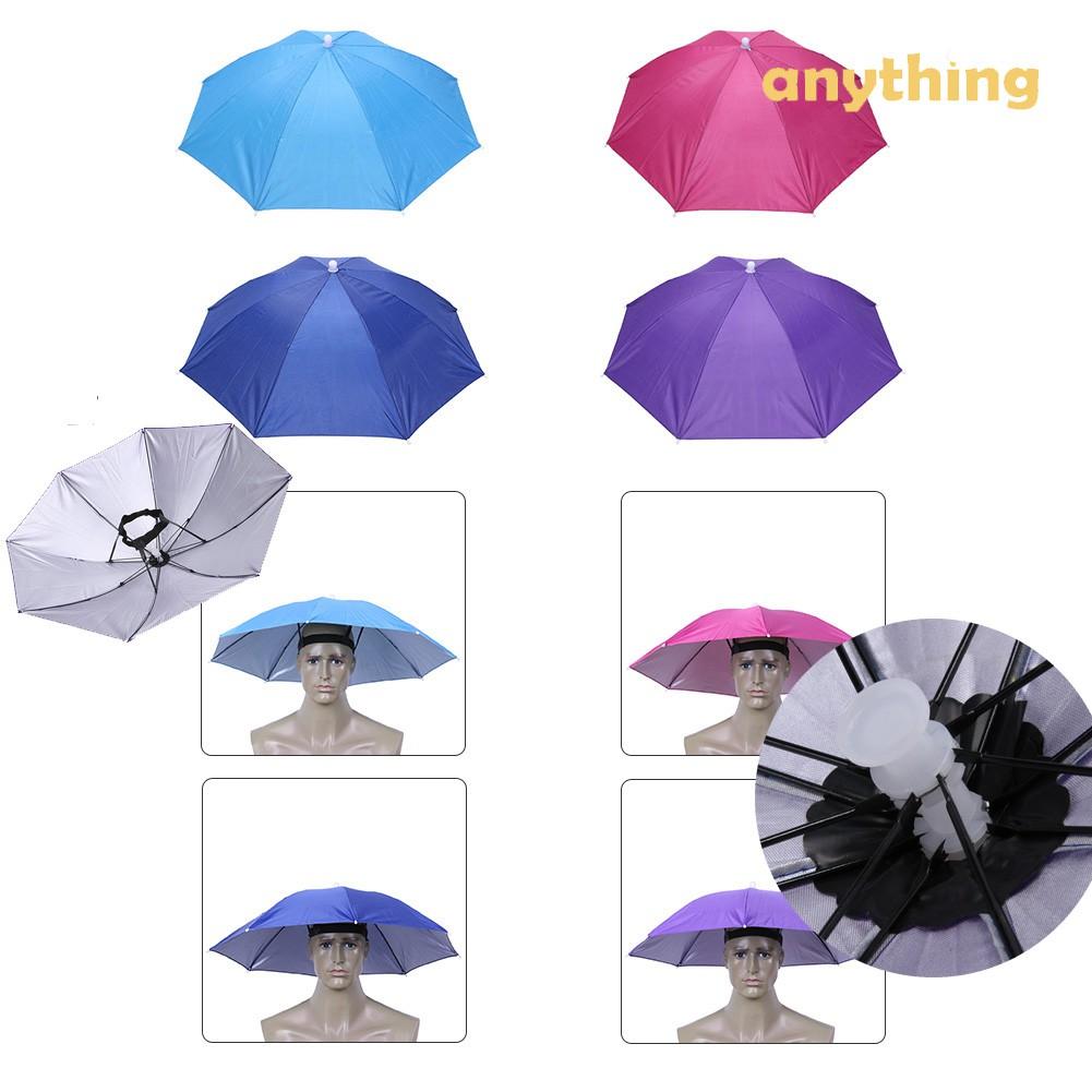 8001967476950 Watermeion Peel Umbrella Hat Fishing Outdoor Brolly