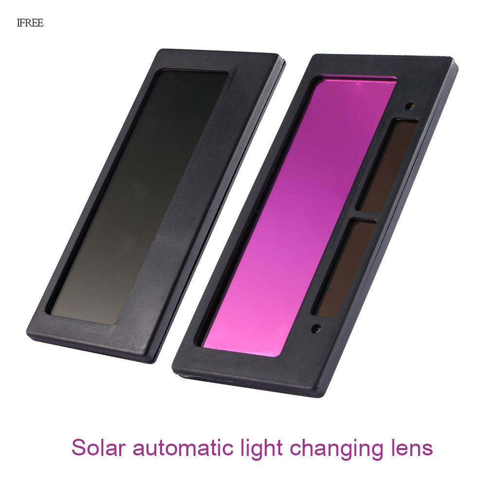 "4-1//4/"" x 2/"" Solar Auto Darkening Welding Lens Helmet Filter Shade 3-11 Cover Len"
