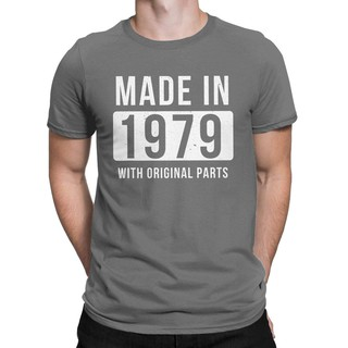 79692e9bda08 Made In 1979 Vintage T Shirt 40Th Birthday Gifts Tees Tops For Men Men's T- shirts Father's Day Gift | Shopee Malaysia