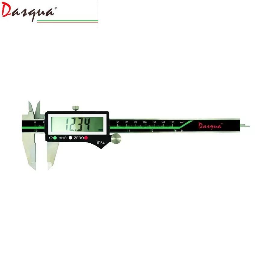 "Dasqua Waterproof Digital Caliper 0-150 mm / 0-6"" IP54"