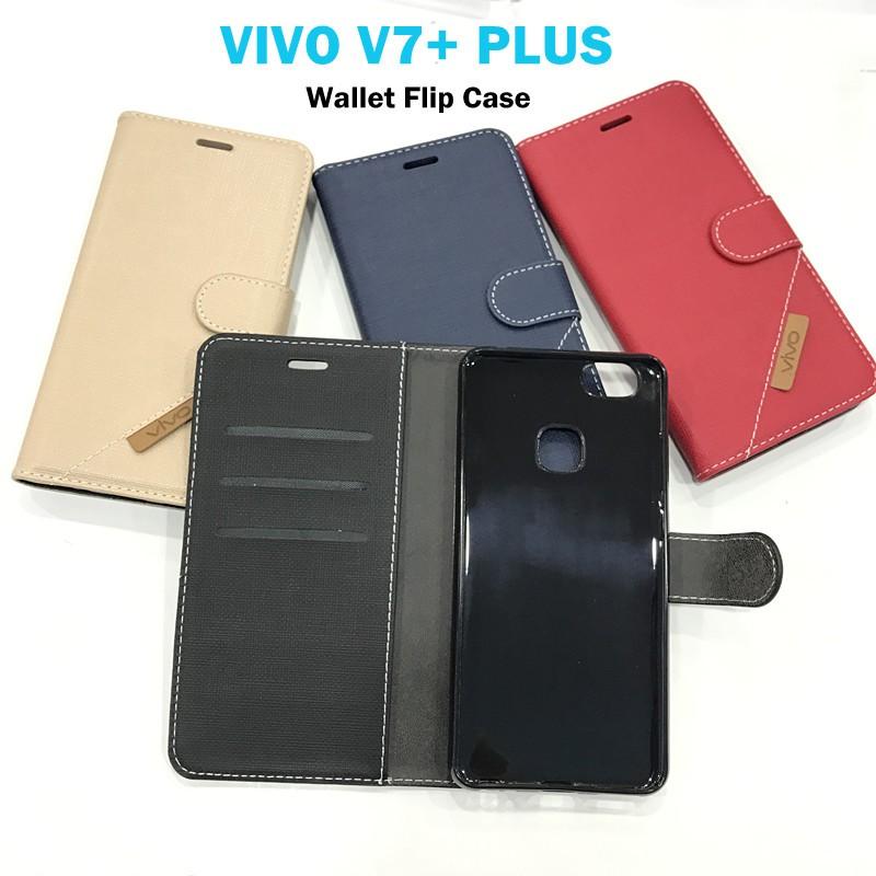 separation shoes 16399 06199 Vivo V7+ Plus Wallet Flip Cover