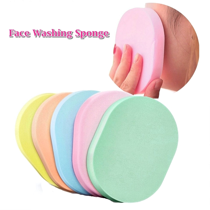 2pcs Face Wash Sponge