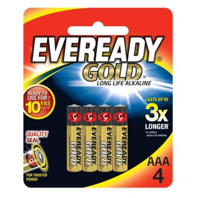 Eveready Gold AA/AAA