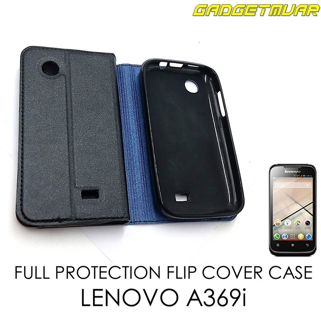 separation shoes e6751 79f23 [READY STOCK] Full Cover Protection Flip Cover Case for LENOVO A369i