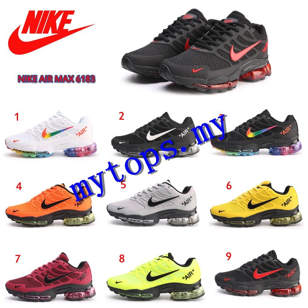túnel Hecho un desastre rastro  9colros】Original NIKE AIR MAX 6183 TN Men Sports Shoes | Shopee Malaysia