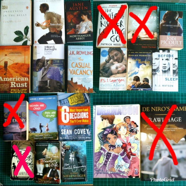 Preloved and New Novels