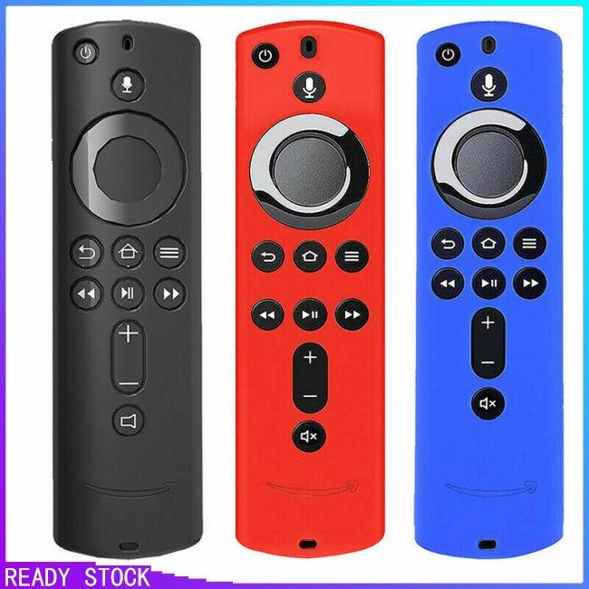 Soft Silicone Rubber Case Cover Skin Shell for Amazon Fire TV Stick Remote
