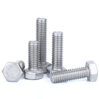 M4,M5,M6,M8 A2 304 Stainless Steel Hexagon Head Fully Threaded Set Screws,Bolts