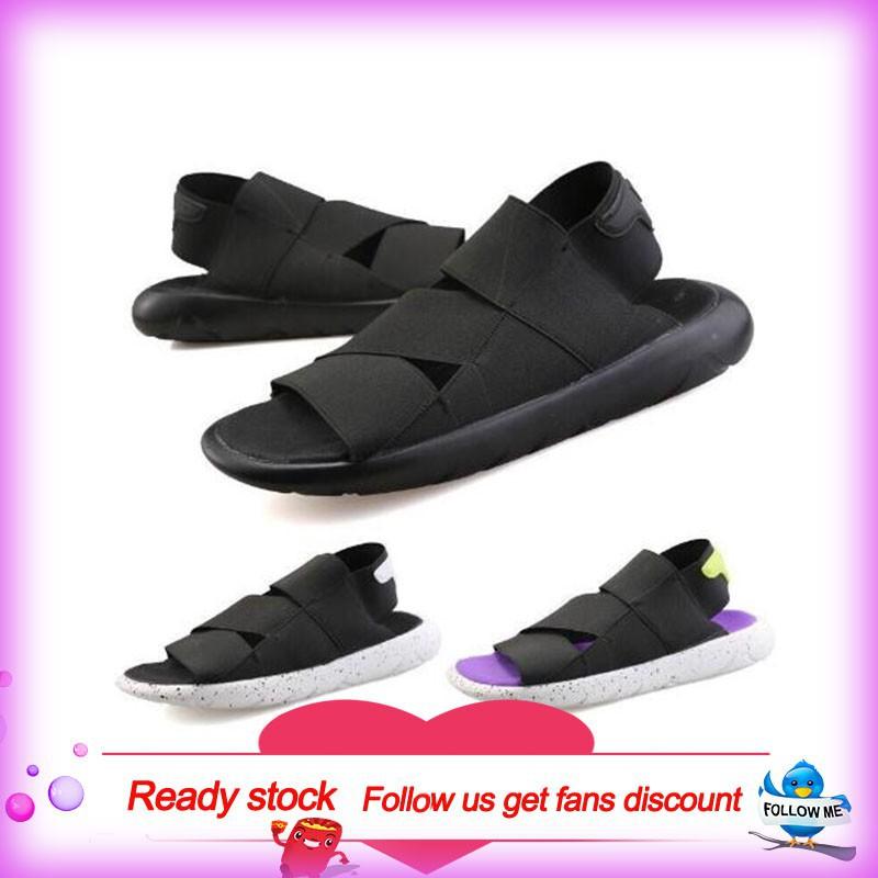 Ready Stock Adidas Y3 Sandals Women Men Korean Casual Beach Sandal Kid Shoes   c7d5bbaa8