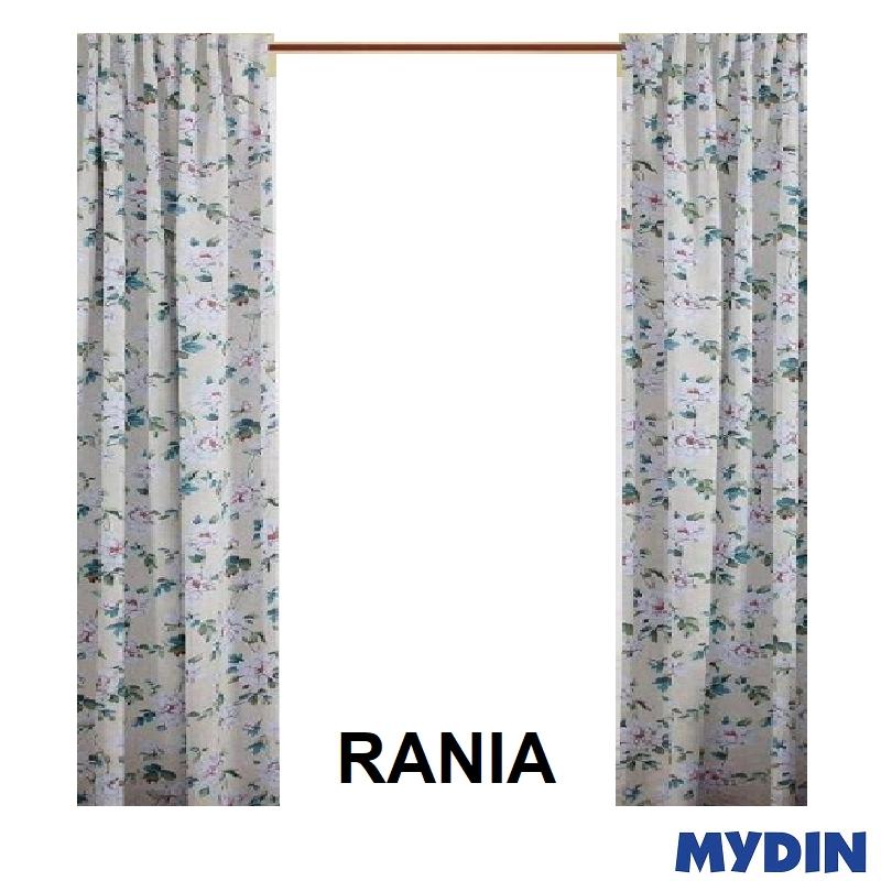 """Rania Curtain 3 Panel Window WX20023PWA (78'' x 90"""") #Raya"""
