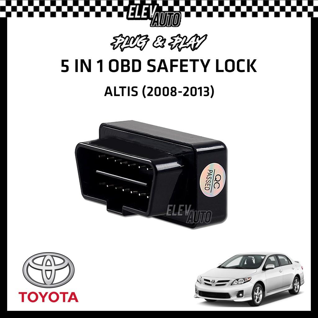 Toyota Altis (2008-2013) OBD Safety Lock (5 in 1)