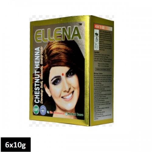 Ellena Chestnut Henna (6 sachets x 10g)