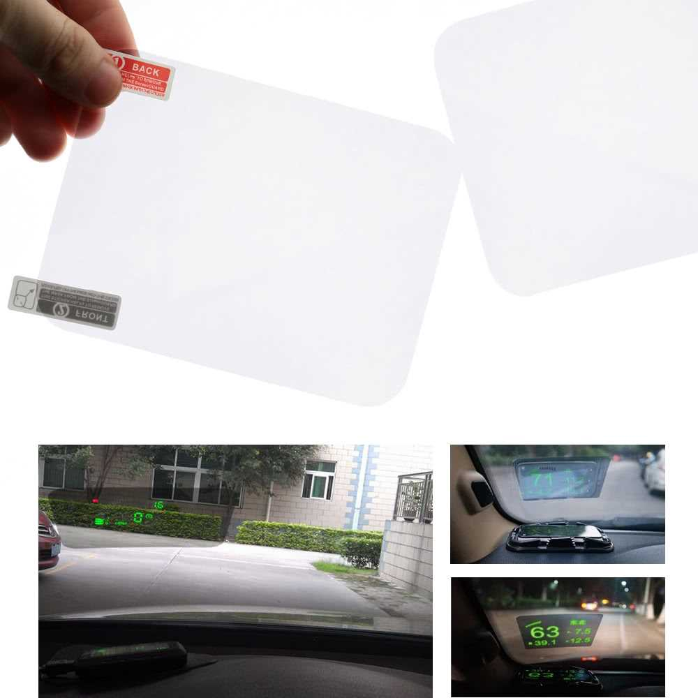 Head Up Display HUD Film Protective Reflective Screen 4.7