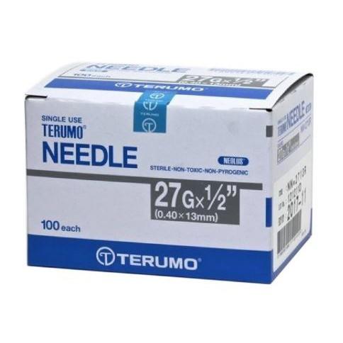 Terumo Needle 27g x 1/2 100's