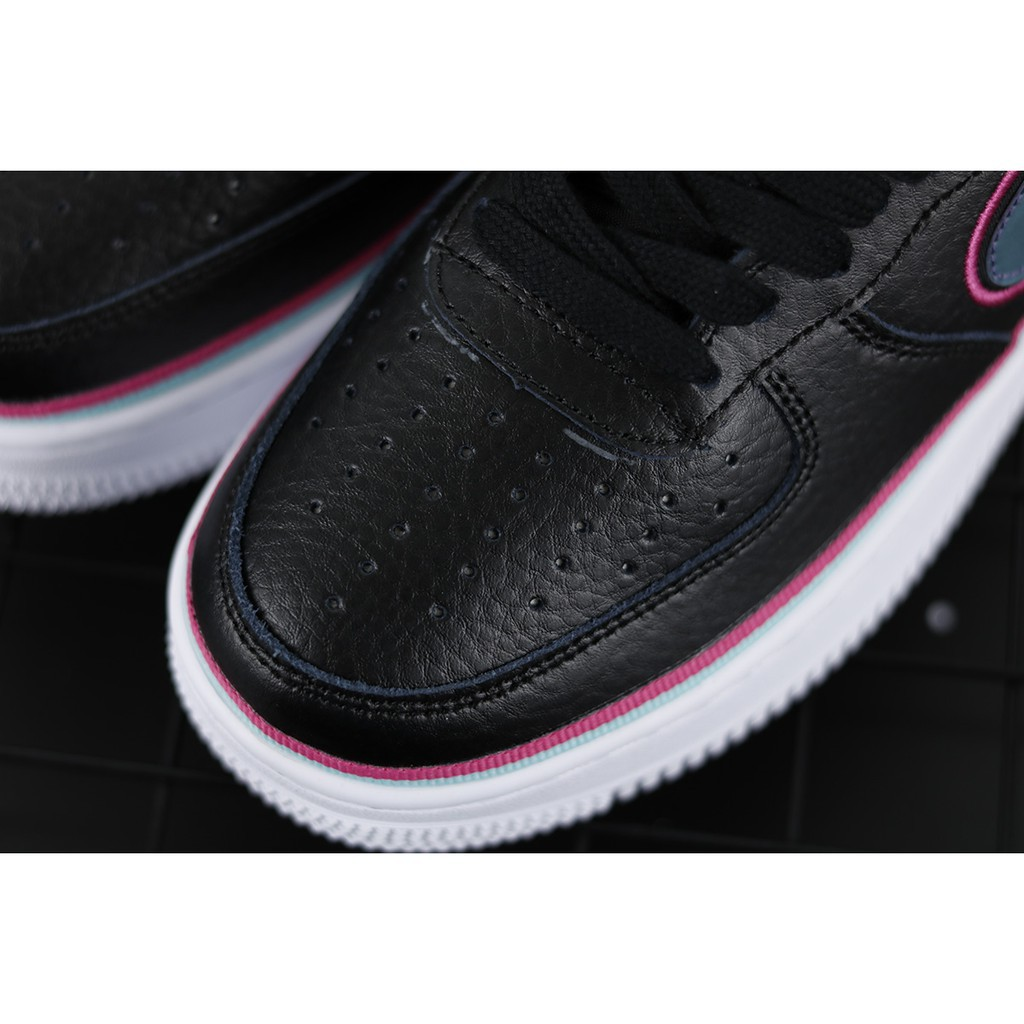 """【Mall】 NBA x Nike Air Force 1 Low '07 LV8 Sport """"South Beach"""" Running Shoes Sneakers"""