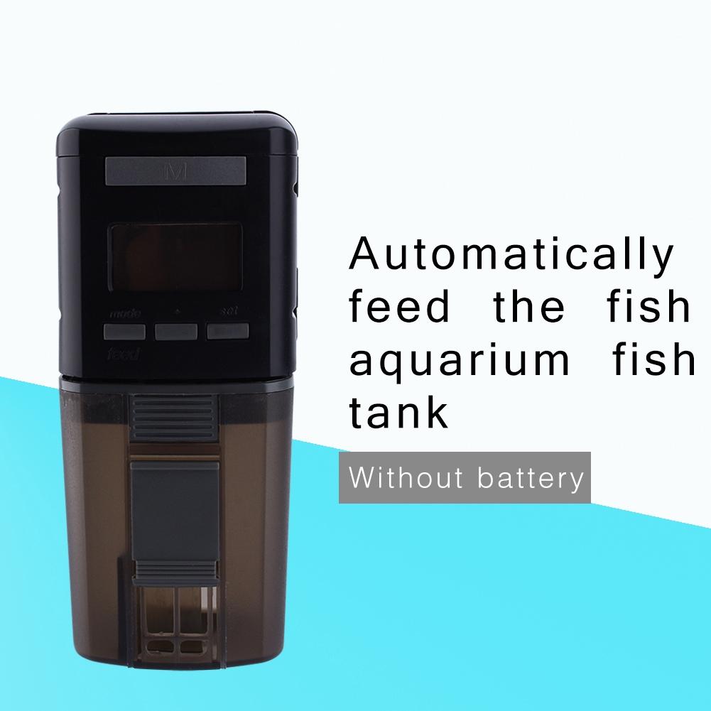 Mini Auto Automatic Aquarium Fish Tank Digital LCD Food Feeder Feeding  Timer New