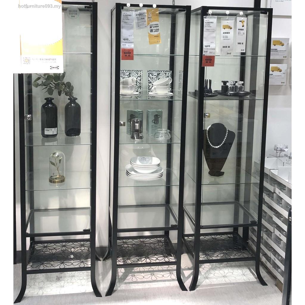🌟Ready Stock🌟﹊❧□20. Dalian IKEA Collins glass door cabinets ...