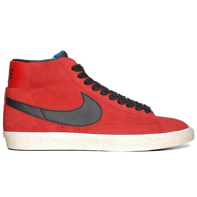 first rate 9a6ea 5cbc9 Nike Blazer Mid 09 Perforated Swoosh 371761-203 Beige Orange Red Mens  Trainers   Shopee Malaysia