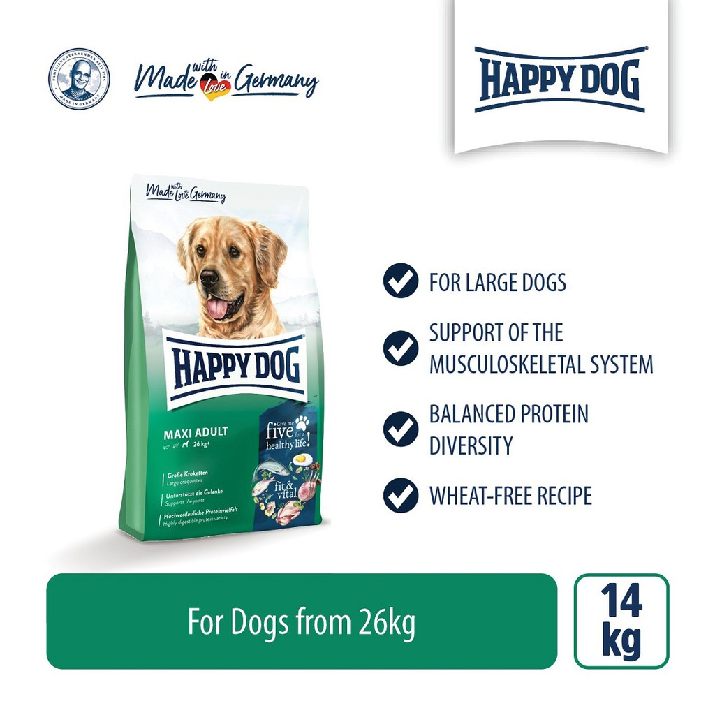 Happy Dog Supreme Fit & Vital - Maxi Adult (14kg)