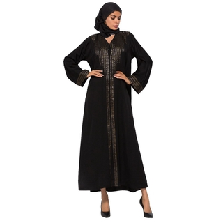 New Design Bat Sleeves Women Muslim Dress Abayas Malaysia Kebaya