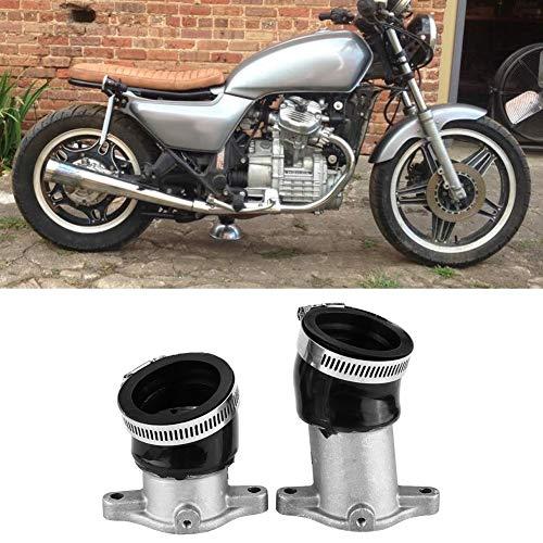 2PCS Aluminum Carburetor Intake Manifold for Honda CX500 1978-1982