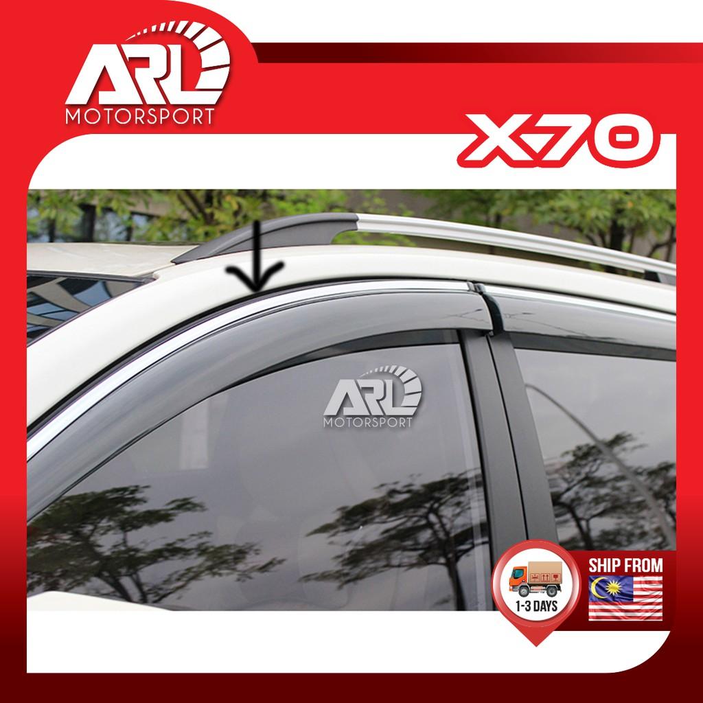 Proton X70 (2018-2021) Door Visor with Steel Lining Waterproof Car Auto Acccessories ARL Motorsport