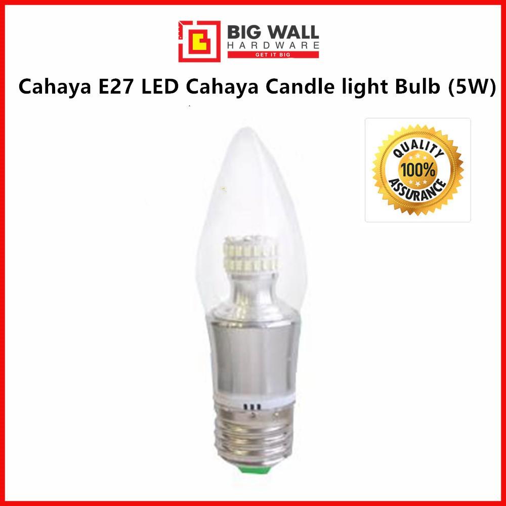 E27 LED Cahaya 4W Candle light Bulb (5W)