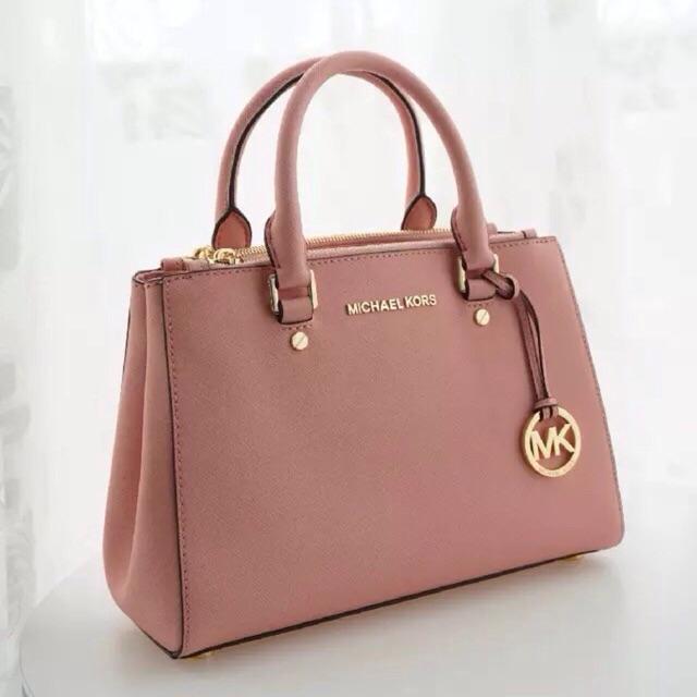 Premium Quality Michael Kors Mk Savannah Saffiano Effect Tote Sling Bag