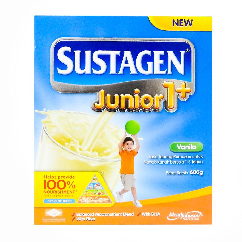 Sustagen Junior 1+ Vanilla (600g)