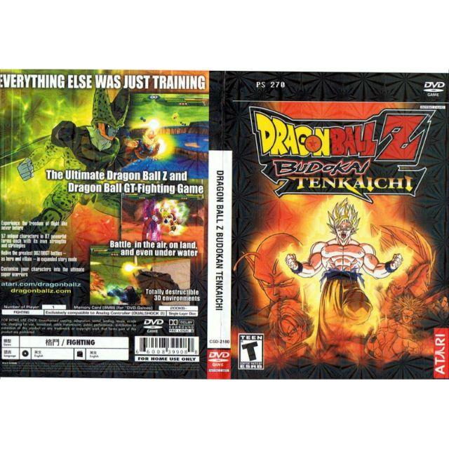 PS2 Games CD Collection Dragon Ball Z BUDOKAI TENKAICHI