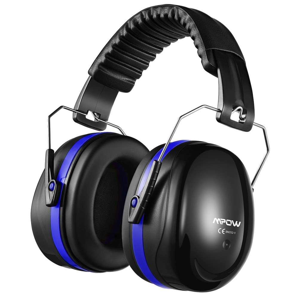 Black Shooters Hearing Protection Ear Muffs Noise Canceling Headphones Ear Defenders for Shooting Noise Reduction Safety Ear Muffs