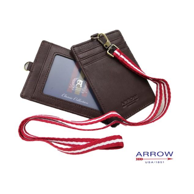 ARROW GENUINE LEATHER Work ID Multi-card ID Card Holder