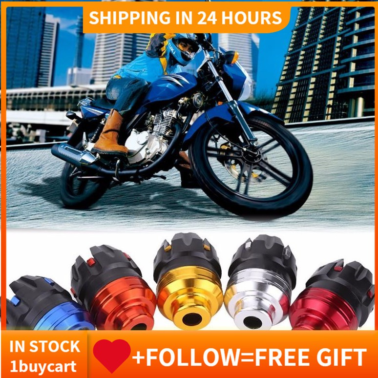 1 Pair Aluminum CNC Motorcycle Scooter Front Fork Frame Sliders Crash  Protector