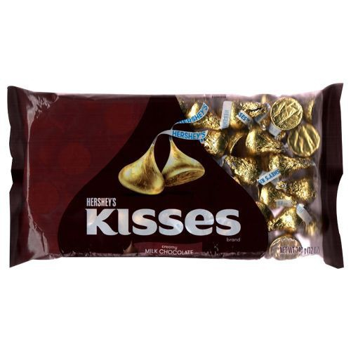 Hershey\'s Kisses Creamy Milk Chocolate 340g [Ice Pack Included]