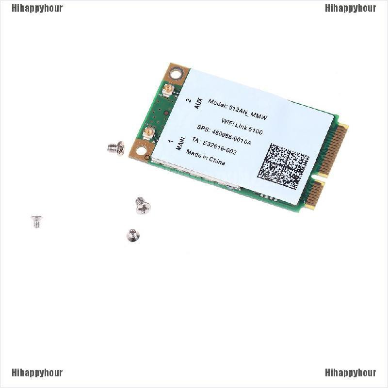 Hihappyhour 300M mini pci-e wireless wlan card 2.4/5GHz for link 5100 wifi 512an_mmw