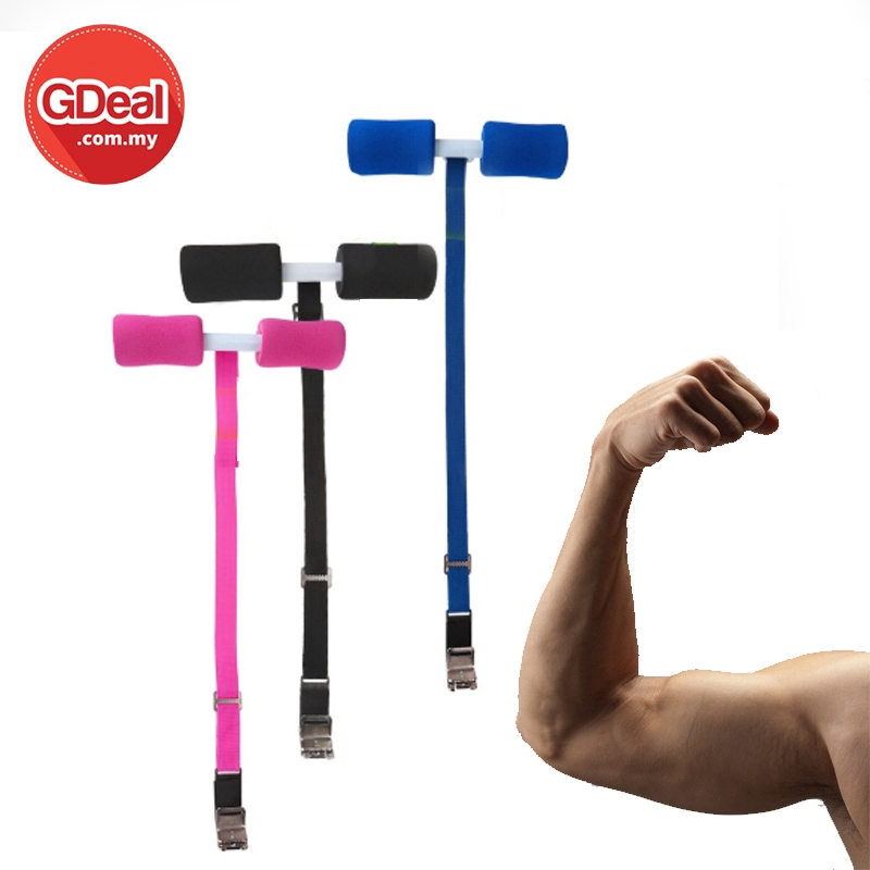 GDeal Body Shaper Resistance Band Fitness Sit Up Rope Lazy Household Belly Exercise ABS Peralatan Latihan ڤرالاتن لاتيهن