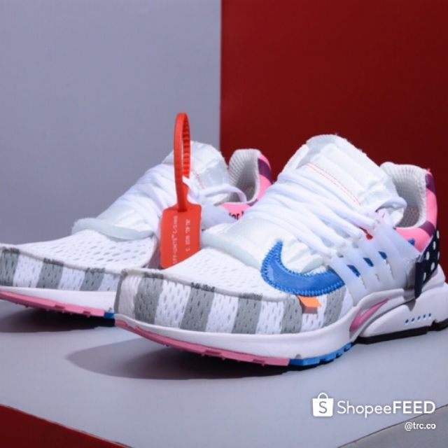 Nike Air Presto Offwhite 2.0 Running Shoes Men Women Pink Premium - 36-45 EURO