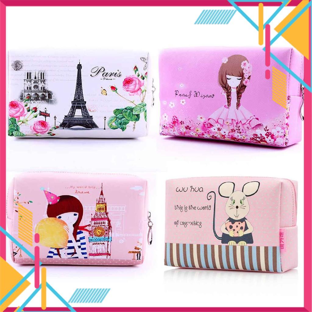 Korean Trendy Makeup Cosmetic Travel Bag