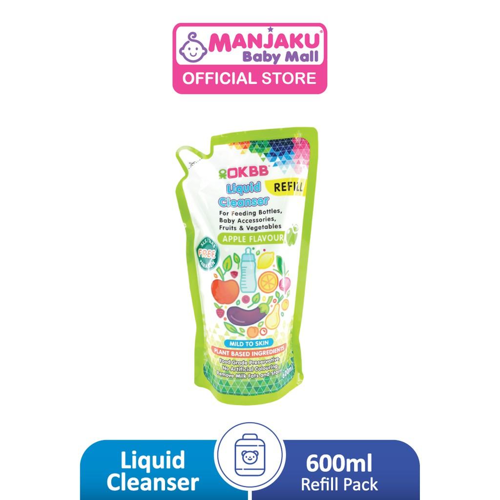 OKBB Liquid Cleanser Refill Pack (600ml)