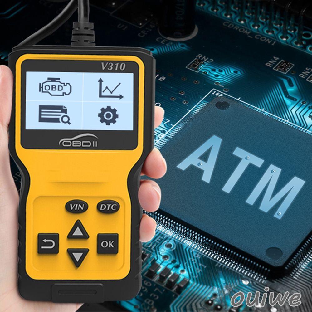om V310 OBD Code Reader OBD2 Scanner Car Check Engine Fault Diagnostic Tool