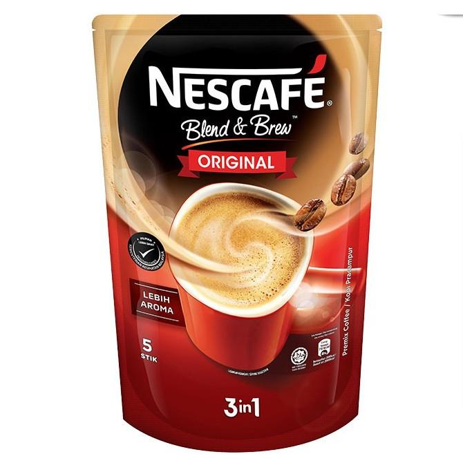 Nescafe Blend & Brew Original 5x19g
