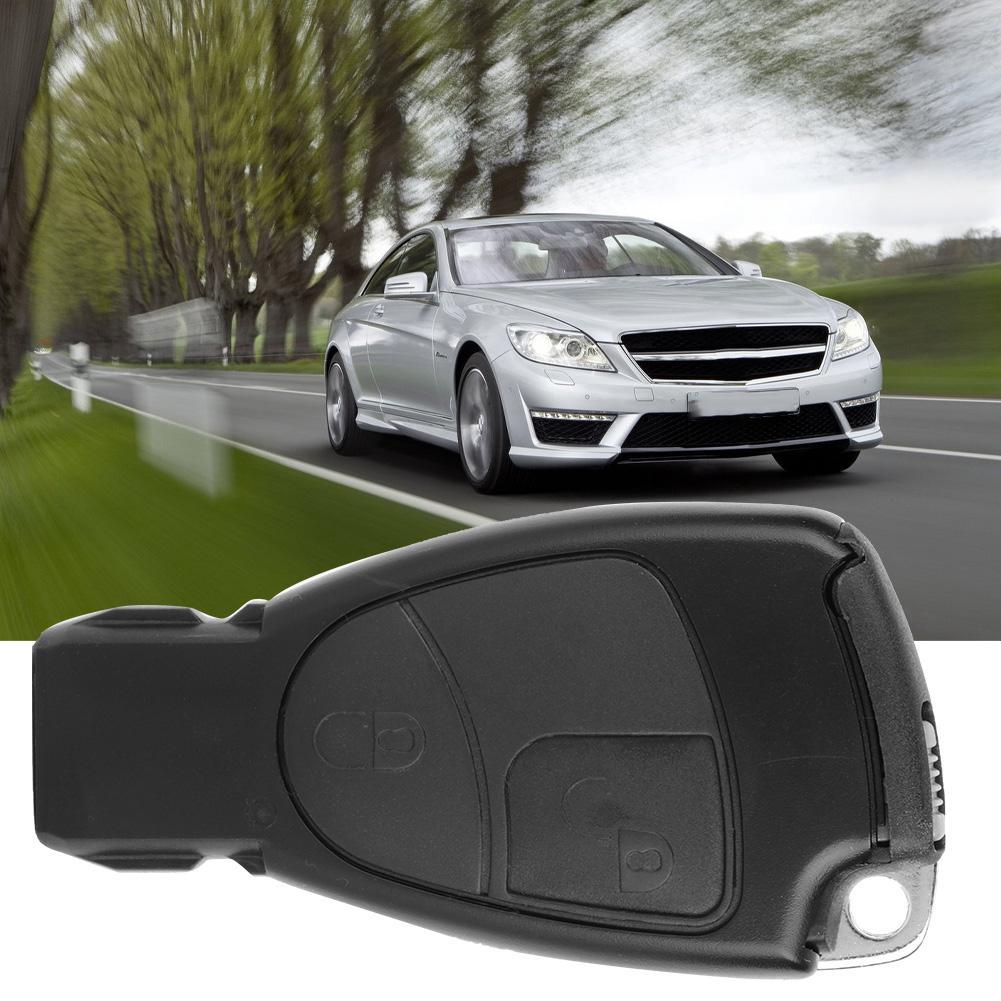 931468ce8ff7 Henlai Aramox Car Key Shell, 2-Button Car Remote Smart Key Case Fob Shell