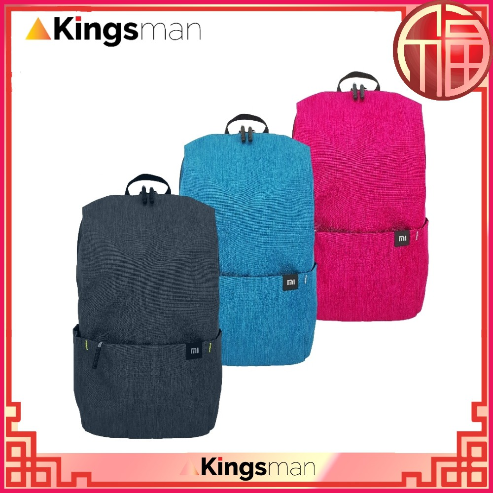 Kingsman  MI Design 10L Capacity Waterproof Fabric Travel Fashion Backpack   30e3313fcd9c4