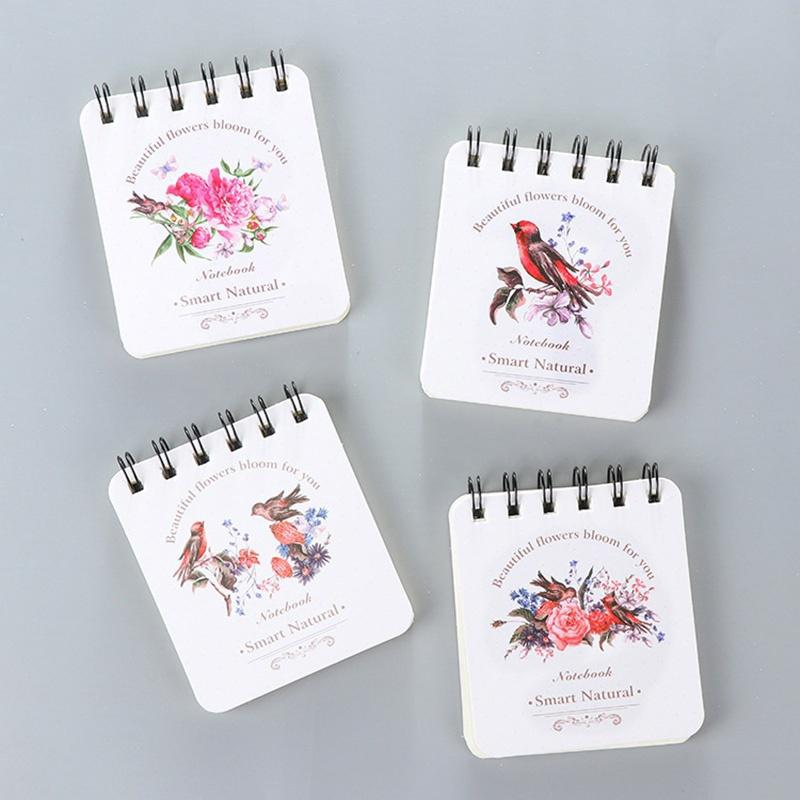 75a9e10aa76f 40 sheets A6 Portable Flower Monthly Monthly Weekly Agenda Planner ...