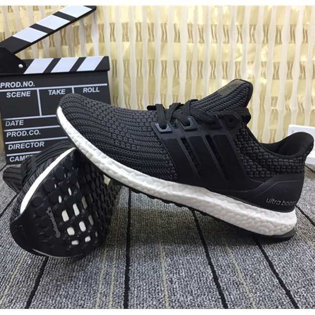 new style d30bf 7dc69 Original adidas ultra boost 4.0 knitting breathable running shoes