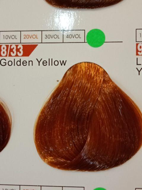 Fabaole color (Golden Yellow. 8/33)100ml foc peroxide cream 100ml (Golden Yellow. 8/33)