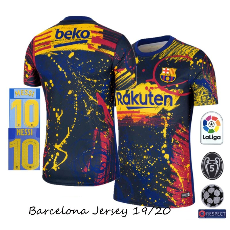 barcelona jersey pre match training 19 20 grade aaa size s xxl add name and patch men s football jersey soccer jersey shopee malaysia barcelona jersey pre match training 19 20 grade aaa size s xxl add name and patch men s football jersey soccer jersey