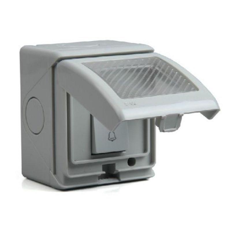 Outdoor Push Button Door Bell Waterproof Switch Doorbell Weatherproof Outside