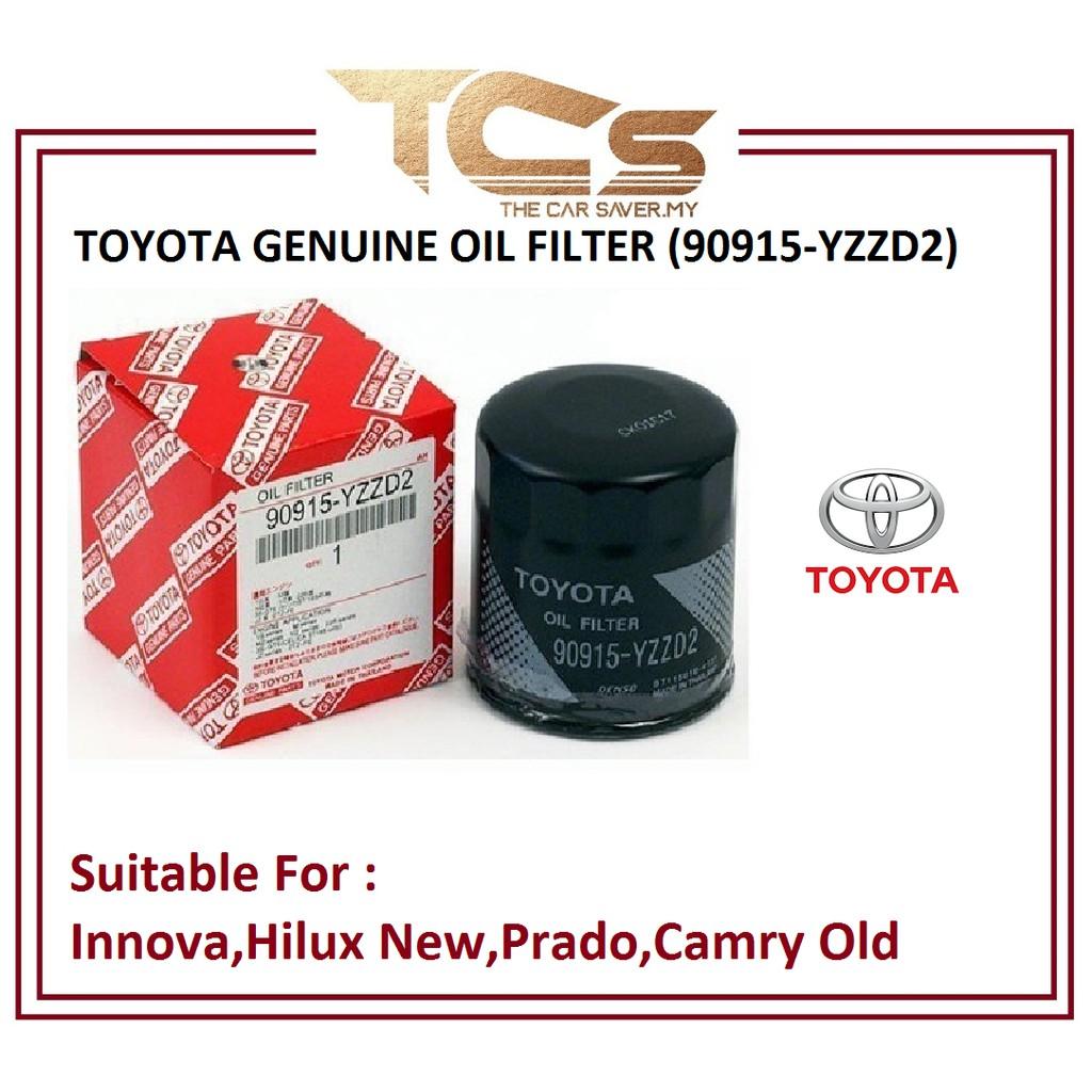 TOYOTA GENUINE OIL FILTER (90915-YZZD2)