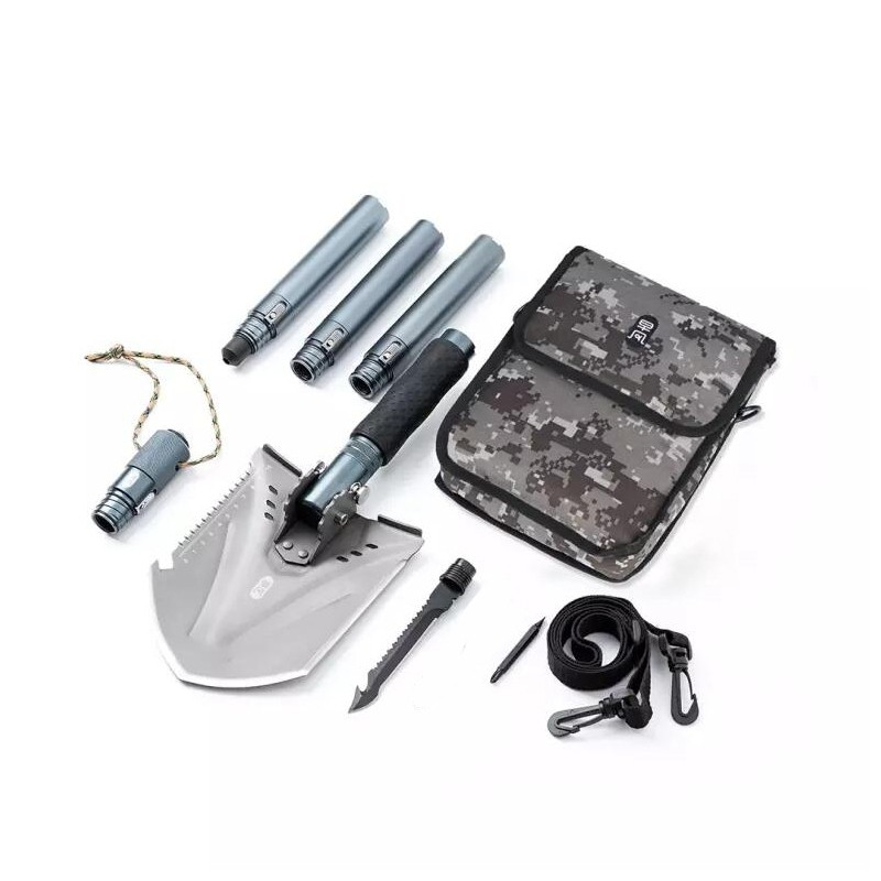 Xiaomi ZENPH 18 in 1 Multifunctional Hikign Camping Shovel Knife Emergency Combination Tool